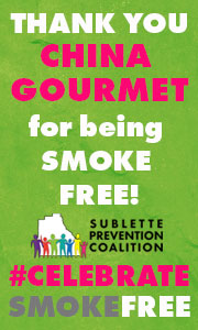Congratulations to China Gourmet for being  Smoke Free!
