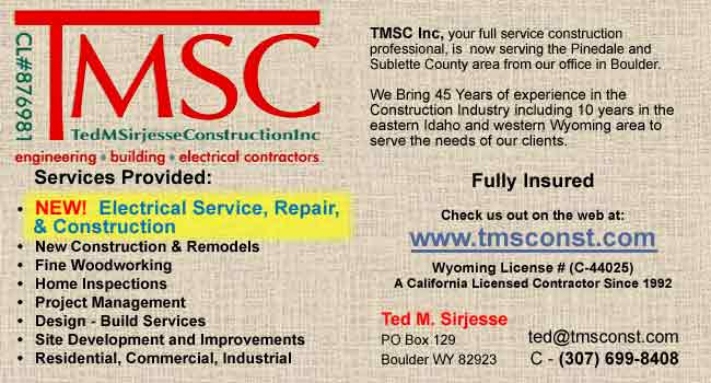 TMSC - Ted M. Sirjesse Construction