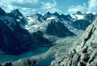 Titcomb Basin. US Forest Service photo, Bridger-Teton National Forest