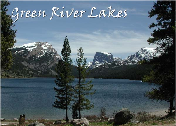 Green River Lakes, Square Top and White Rock Mountain