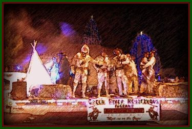 Mountain Man Christmas Lighted Parade. Photo by Terry Allen