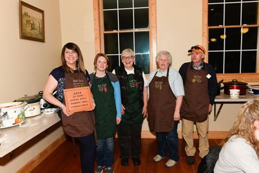 Chili Cookoff Winners. Photo by Arnold Brokling.