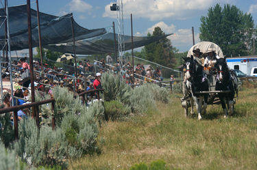 Green River Rendezvous Pageant. Photo by Clint Gilchrist.