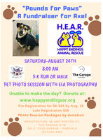 Pounds for Paws August 24