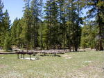 New Fork Lakes Campground Group area