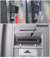 Credit card skimmers. Photo courtesy Sweetwater County Sheriff's Office.