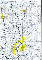 Wyoming Range Snowmobile Trail Map